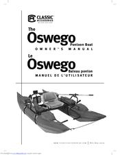 Classic Accessories OSWEGO PONTOON BOAT Manuals