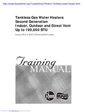 Rheem Tankless Hot Water Heater Error Code P1 Best Water