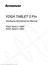 lenovo yoga tablet 2 pro hardware maintenance manual pdf download rh manualslib com lenovo yoga 2 service manual lenovo yoga 2 owners manual