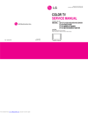 LG RE-21CB50VX Service Manual