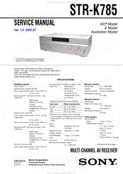инструкция Sony Str K780 - фото 10