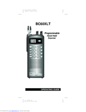uniden bc60xlt operating manual pdf download rh manualslib com Uniden Bearcat BC60XLT 1 Manual Uniden Bearcat Scanner Programming
