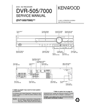 kenwood dvr 7000 dvd av receiver repair manual