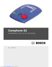 Bosch Carephone 62 CRS-H62M-GB User Manual