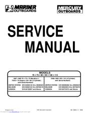 mariner 70 service manual pdf download rh manualslib com Mercury Mark 15 Mercury Mark 15
