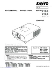 sanyo plc xt25l manuals rh manualslib com Sanyo XGA Projector Manual Sanyo Multimedia Projectors