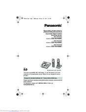 panasonic answering machine remote codes