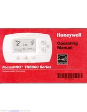 honeywell focuspro wi fi th6000 series manuals rh manualslib com