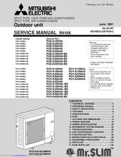 mitsubishi electric puz a24nha manuals rh manualslib com