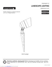 Portfolio Outdoor Lv11318 Manuals