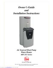 Rheem heat pump manual.