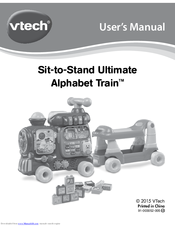 Vtech Sit To Stand Ultimate Alphabet Train Manuals