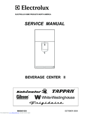 Electrolux BEVERAGE CENTER II Service Manual