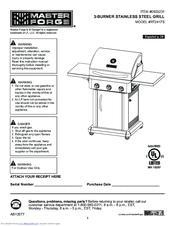 master forge rt2417s manuals rh manualslib com master forge charcoal grill owner's manual Master Forge Grills Owner's Manual