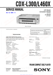 953371_cdxl300_product sony cdx l460x manuals  at alyssarenee.co