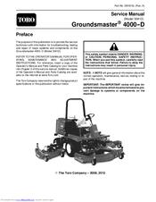 toro groundsmaster 4000 d manuals Bobcat Mower Wiring Diagrams toro groundsmaster 4000 d service manual