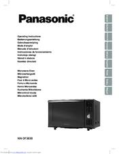 panasonic nn df383b manuals rh manualslib com 2008 Panasonic Inverter Microwave Manual Panasonic Inverter Microwave Manual