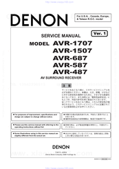 denon avr 687 manuals rh manualslib com denon manual avr s720w denon manual avr s720w