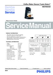 philips hd7850 60 manuals rh manualslib com philips senseo manual romana philips senseo manual hd7825