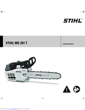 Stihl® ms201t chainsaw owners manual brand new! | ebay.