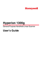 Honeywell Hyperion 1300G User Manual