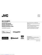 JVC KD-X320BT Receiver Bluetooth New