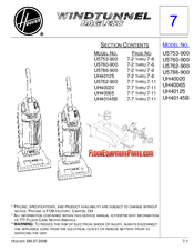 Hoover UH40020 Manual