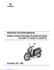 piaggio carnaby 200 manuals rh manualslib com piaggio beverly 200 manuale d'uso piaggio beverly 200 manual pdf