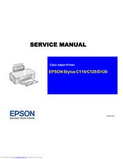 epson stylus c110 manuals rh manualslib com Epson Printer Ink Epson Printer Ink