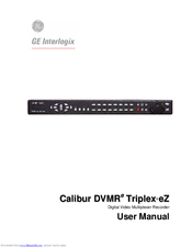 GE Calibur DVMR Triplex eZ User Manual