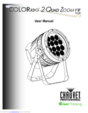 Chauvet Colorado  Tour User Manual
