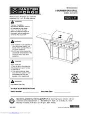 master forge 3218ltn manuals rh manualslib com Lowe's Master Forge Grill Parts Master Forge Charcoal Grill Manual