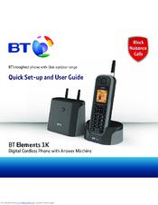 bt elements 1k manuals rh manualslib com Old BT Phone BT Phone Numbers Directory