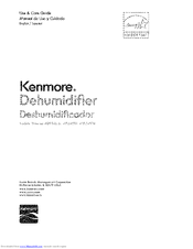 Kenmore 405.54550 Use & Care Manual