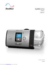 resmed lumis 100 vpap s user manual pdf download rh manualslib com
