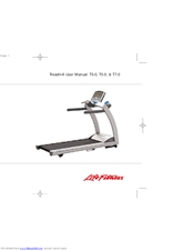 Life fitness t7-0 manuals.