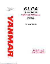 Yanmar marine engine 6lpa-stp2, 6lpa-stzp2 service repair workshop.