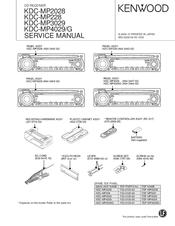 Kenwood Kdc Mp228 200w Cd Mp3 Wma Receiver I Pod Manuals