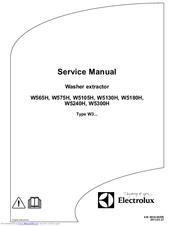 Electrolux W5240H Manuals