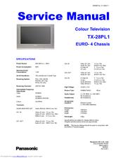 panasonic tx 28pl1 manuals rh manualslib com Quick Reference Guide Quick Reference Guide