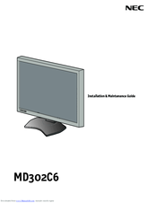 NEC MD302C6 Installation & Maintenance Manual