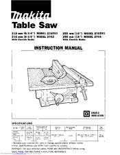 makita 2703 manuals rh manualslib com makita 2702 table saw manual makita table saw 2705 manual