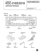 Kenwood KDC-216S Service Manual