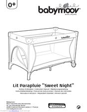 babymoov lit parapluie sweet night instruction manual - Lit Parapluie Babymoov