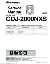 pioneer cdj 2000nxs manuals rh manualslib com CDJ-2000 White CDJ-2000 White