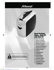 rexel style manuals rh manualslib com Rexel USA Rexel USA