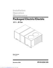 Trane TC*150-301 Manuals