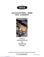 aga ec3 users instructions cooking manual pdf download rh manualslib com Aim Red Dot aga aims user manual