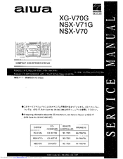 aiwa nsx v71g manuals rh manualslib com