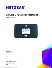 Netgear 779S Sprint Manuals